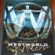 Westworld signed autograph poster psa evan rachel wood