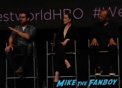 Westworld FYC Panel meeting Evan Rachel Wood 1