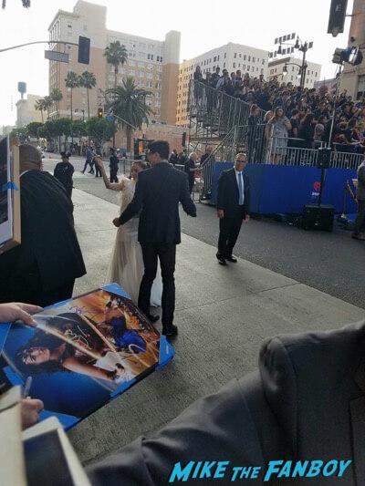 Elena Anaya meeting fans Wonder Woman Premiere gal gadot signing autographs meeting fans 15