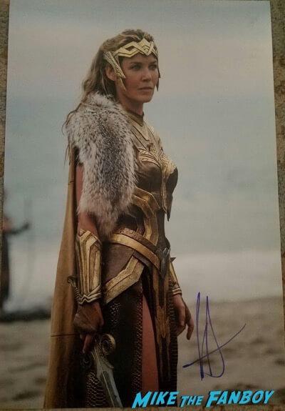 connie nielsen signed autograph photo