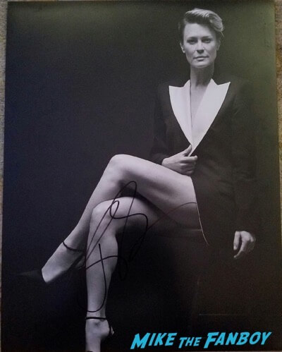 robin wright signed autograph photo psa