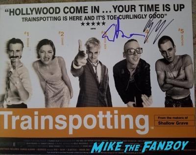 ewan bremner signed autograph photo