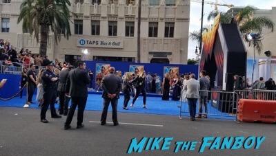 Wonder Woman Premiere gal gadot signing autographs meeting fans 9