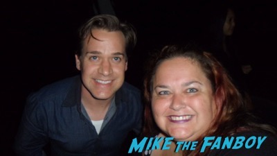 T R Knight meeting fans selfie