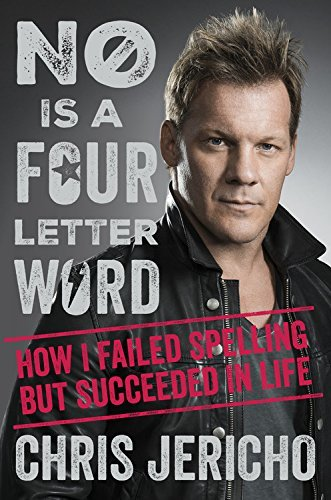 Chris Jericho signed book