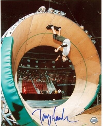 Tony Hawk signed autograph photo rare