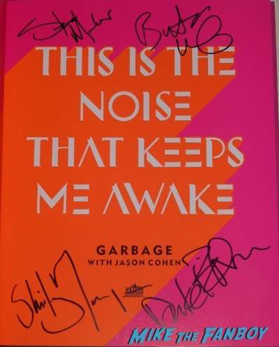 Garbage book signing amoeba records 2