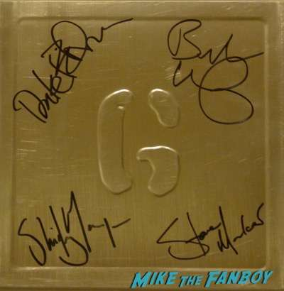 Garbage signed autograph lp record psa beckett