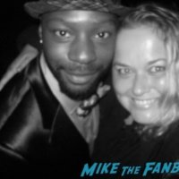 Nelsan Ellis RIP Memorial Meeting fans 1