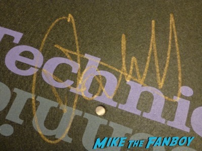 Paul Oakenfold signed autograph slipmat Paul Oakenfold signed autograph slipmat