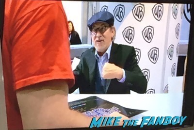 Ready Player One San Diego Comic Con autograph Signing steven Spielberg 1