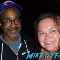 Tim Meadows signing autographs 2