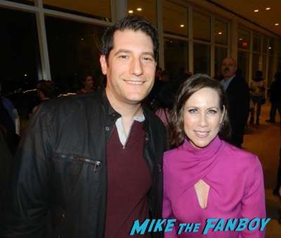 Miriam Shor meeting fans Younger FYC Panel Sutton Foster meeting fans hilary duff 15