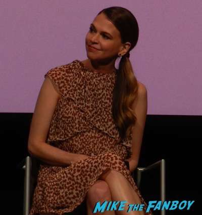 Younger FYC Panel Sutton Foster meeting fans hilary duff 1