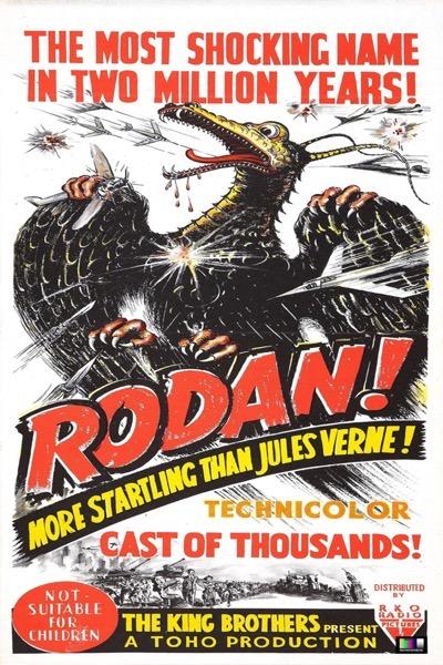 rodan poster godzilla get down