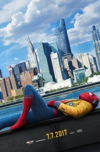 spider man homecoming poster one sheet