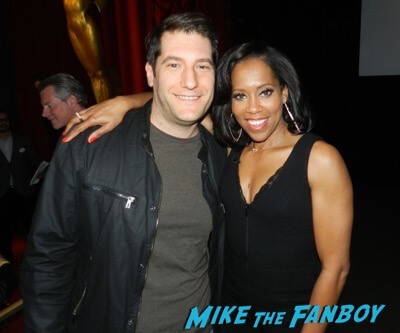Regina King meeting fans american crime fyc