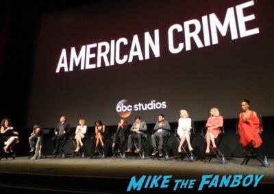 American Crime FYC Panel Felicity Huffman meeting fans 5