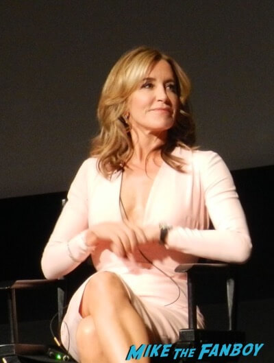 American Crime FYC Panel Felicity Huffman meeting fans 5