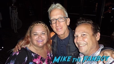 Andy Dick meeting fans