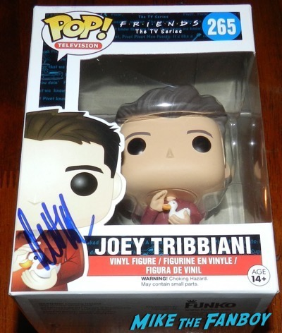 Matt LeBlanc signed autograph joey friends Funko Pop Vinyl