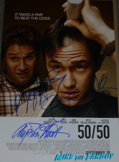 Joseph Gordon-Levitt signed autograph poster psa