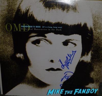 OMD signed autograph lp album psa rare