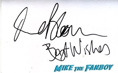 Orlando Bloom signed autograph index card