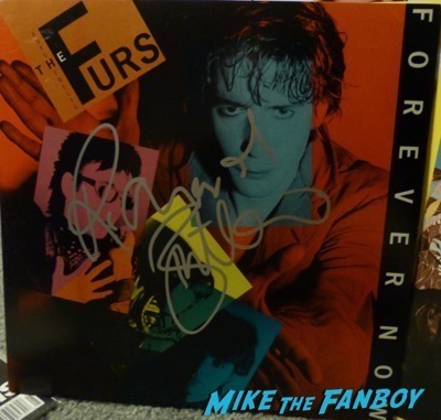 Richard Butler Signed autograph psychedelic furs lp album psa Richard Butler Signed autograph psychedelic furs lp album psa