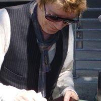 Richard Butler Signing Autographs Psychedelic Furs los angeles concert 5