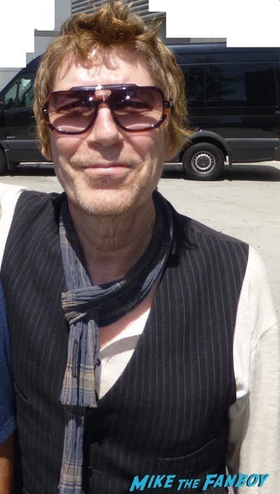 Richard Butler Signing Autographs Psychedelic Furs los angeles concert 5