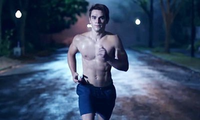 Riverdale: The Complete First Season DVD Review K J Apa shirtless naked 2