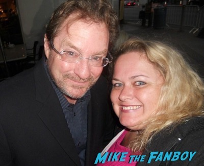 Stephen Root meeting fans