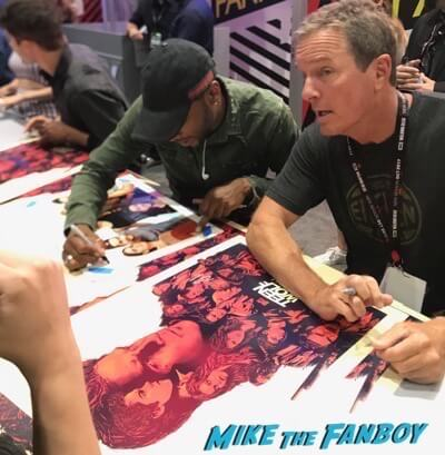 Teen Wolf Cast signing autographs Comic Con 2017 tyler posey hot 3