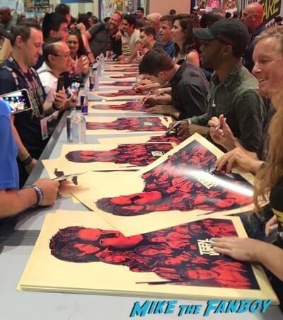 Teen Wolf Cast signing autographs Comic Con 2017 tyler posey hot 3Teen Wolf Cast signing autographs Comic Con 2017 tyler posey hot 3