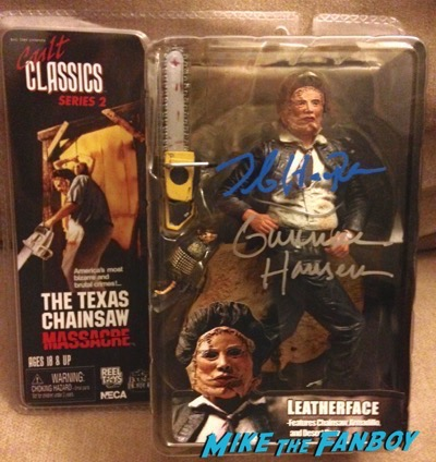 Tobe Hooper signed autograph action figure