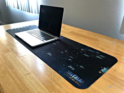 Valerian City of Alpha Mouse Pad 2 2