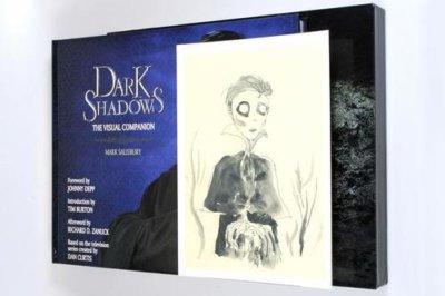 Tim Burton signed autograph book