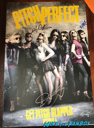 pitch perfect signed poster