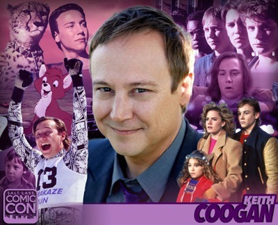 Keith coogan salt lake city comic con