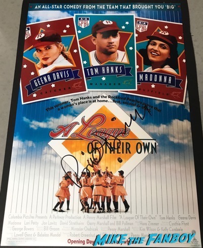 Rosie O'Donnell Signed Autograph A League Of Their Own poster psa