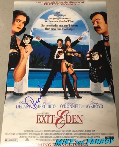 Rosie O'Donnell Signed Autograph Exit to Eden poster psa