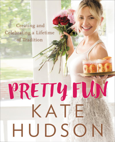 Kate Hudson Pretty Fun signed book