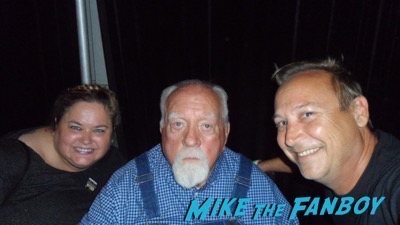 Wilford Brimley fan photo signing autographs