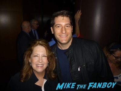 Ann Dowd Meeting fans The Handmaid's Tale Q and A Elisabeth Moss meeting fans 1