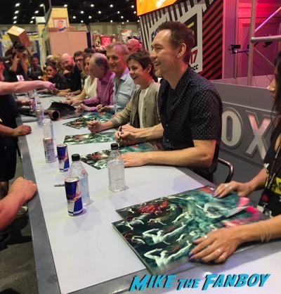 The strain SDCC Signing comic con 2017 1
