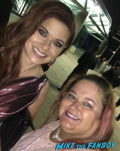 will and grace cast meeting fans debra messing 1