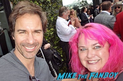 Eric Mccormak will and grace cast meeting fans debra messing 2