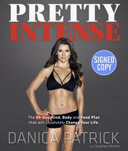 Danica Patrick signed book