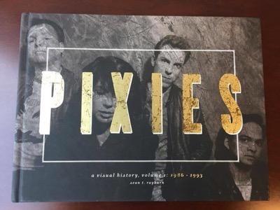 Pixies signed book black francis autograph